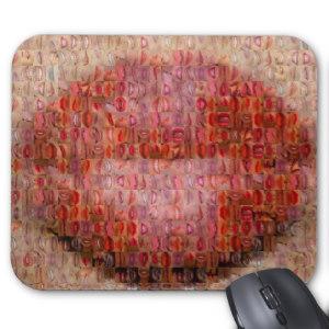 Mosaiquebisous-Tapis de souris