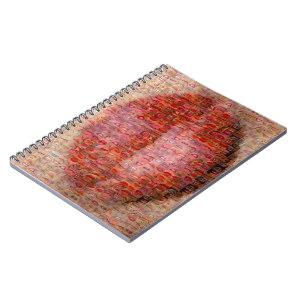 Cahier - Mosaique Bisous